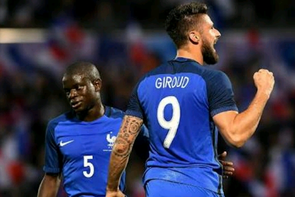 Giroud: Kante Was Too Shy To Hold The World Cup Trophy