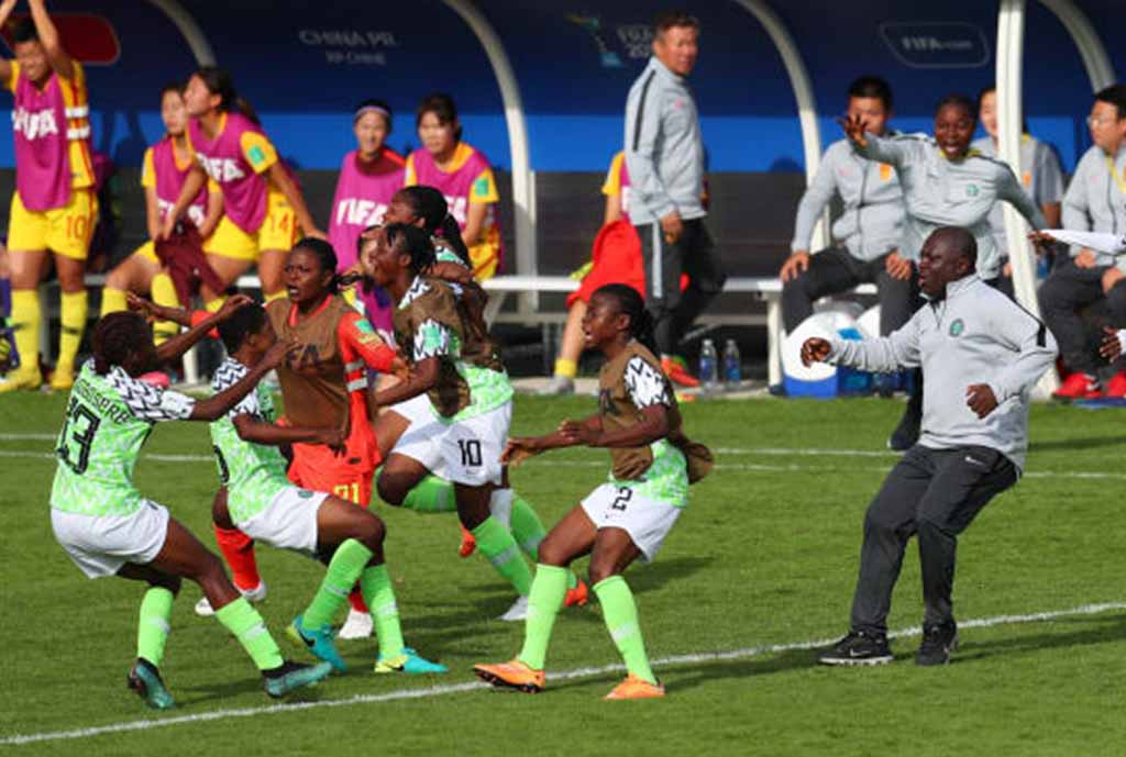 Oparanozie Charges Falconets To Attack Spain For Victory