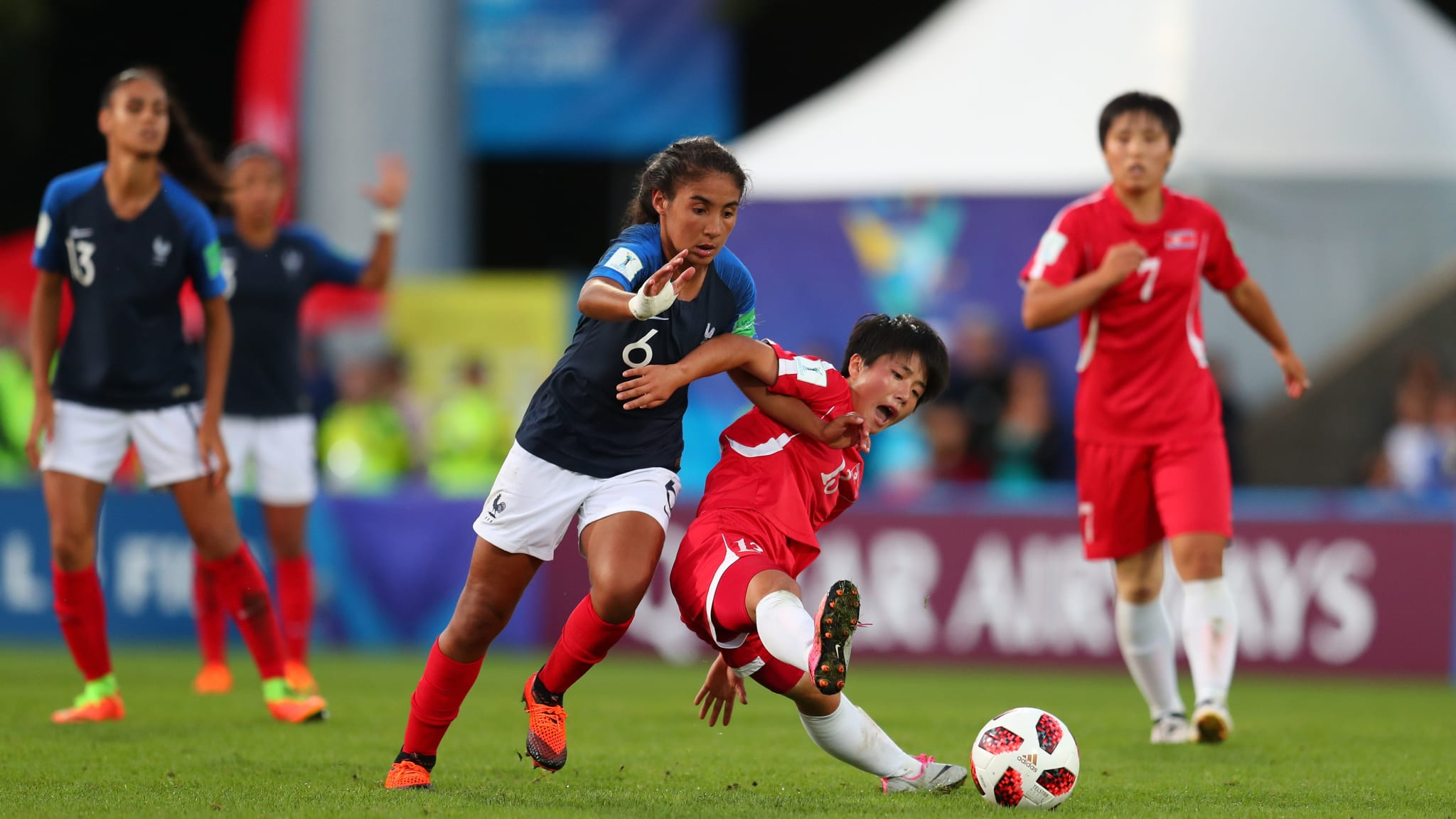 U-20 WW/Cup: France Oust Defending Champions Korea DPR To Reach Semi-Finals
