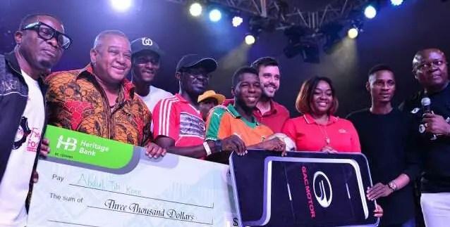Ivorien Kone Wins African Freestyle Championship In Lagos