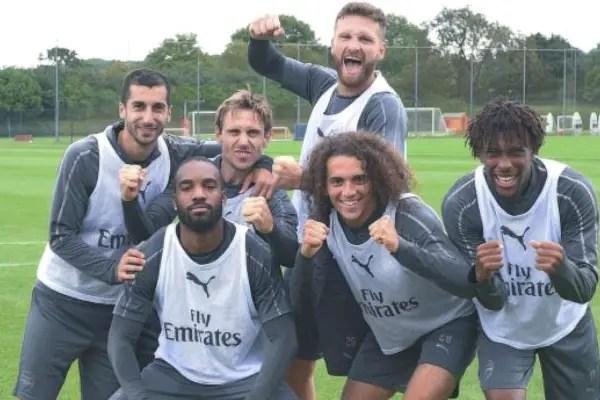 Iwobi Resumes Training Ahead Of Arsenal's Trip To Newcastle