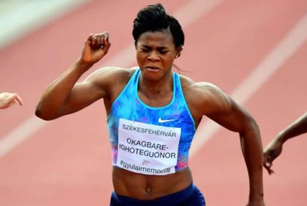 IAAF Worlds Zagreb: Okagbare Runs 11.47 Secs To Finish 6th In 100m