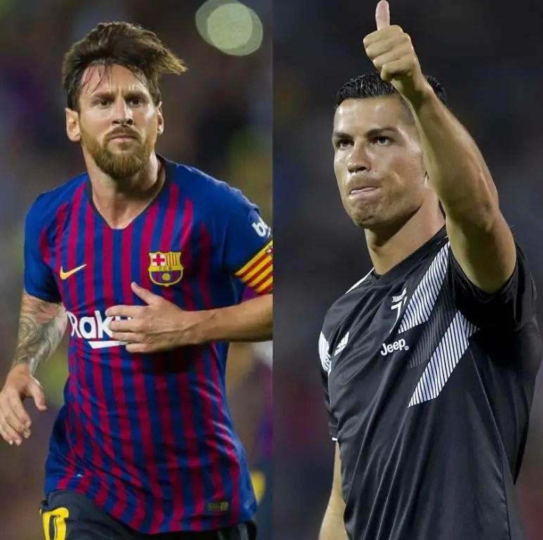 Football Icons Slam Messi, Ronaldo Over FIFA The Best Awards Snub