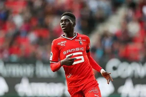 Rennes Braced For Sarr Interest