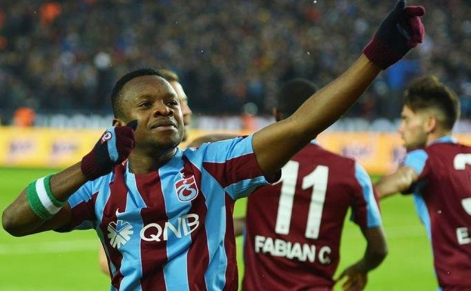 Trabzonspor Coach Thumbs-Up Onazi 's Workrate