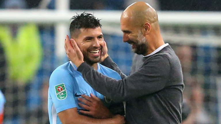 Guardiola Delighted To Continue Aguero Relationship