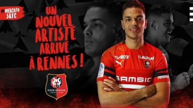 Ben Arfa Completes Rennes Move