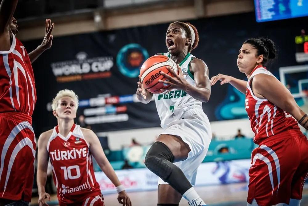 FIBA Women's W/Cup: D'Tigress Record First Win; Beat Turkey 74-68
