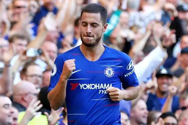Hazard Happy With New Look Chelsea