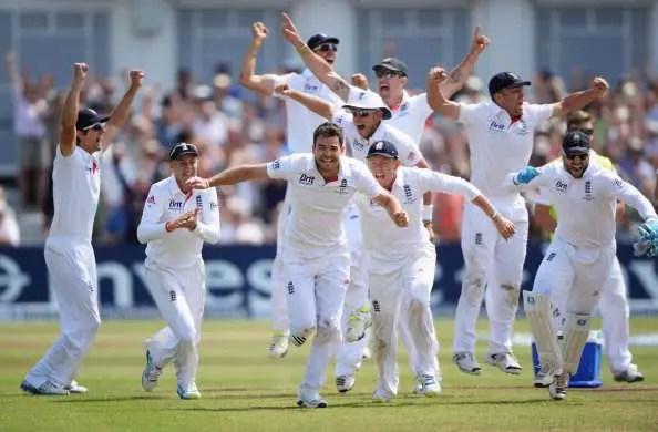 England Seal Series Win