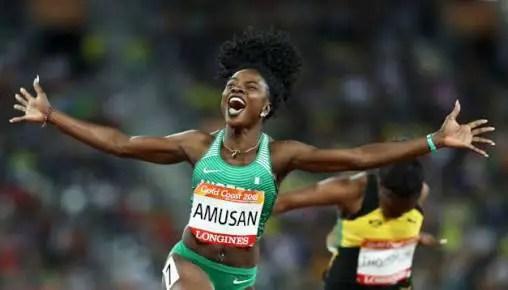 IAAF Continental Cup: Amusan Seeks 2nd Sprint Hurdles Gold For Africa; Oduduru Out of 200m