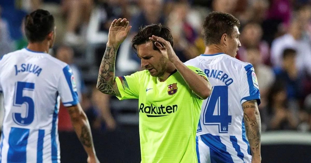 Barcelona Slip To Rare Defeat At Leganes