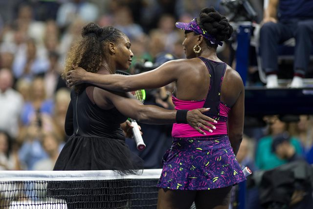 Serena Strolls Past Venus In New York