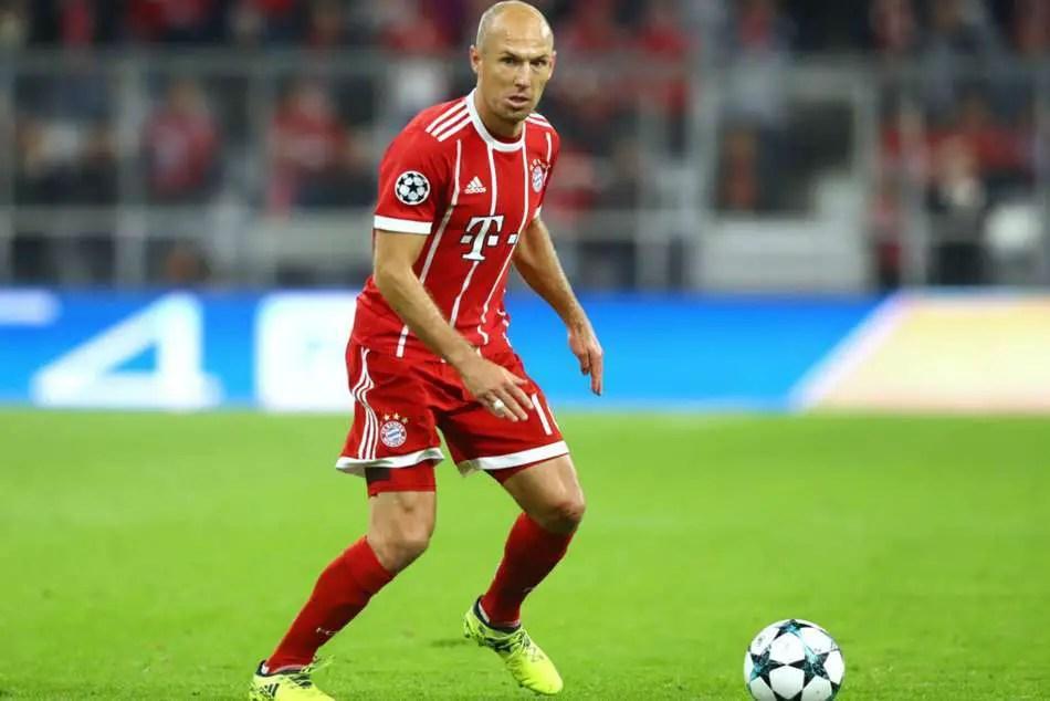 Robben Sets Bayern Target