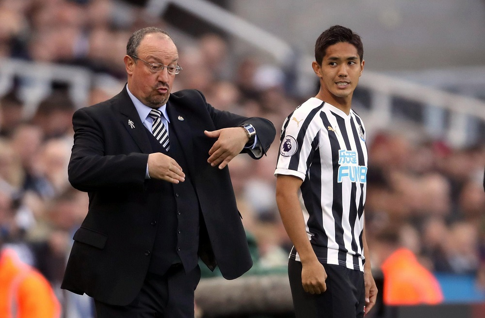 Benitez Wants Aerial Improvement From Muto