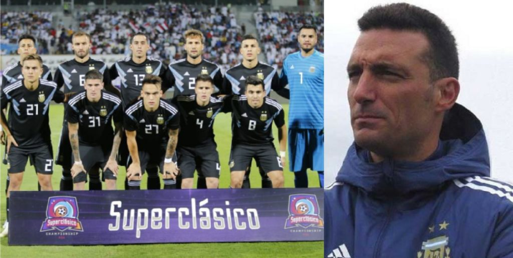 Scaloni Thrilled To See Argentina Play As Team Without Messi, Thrash Iraq