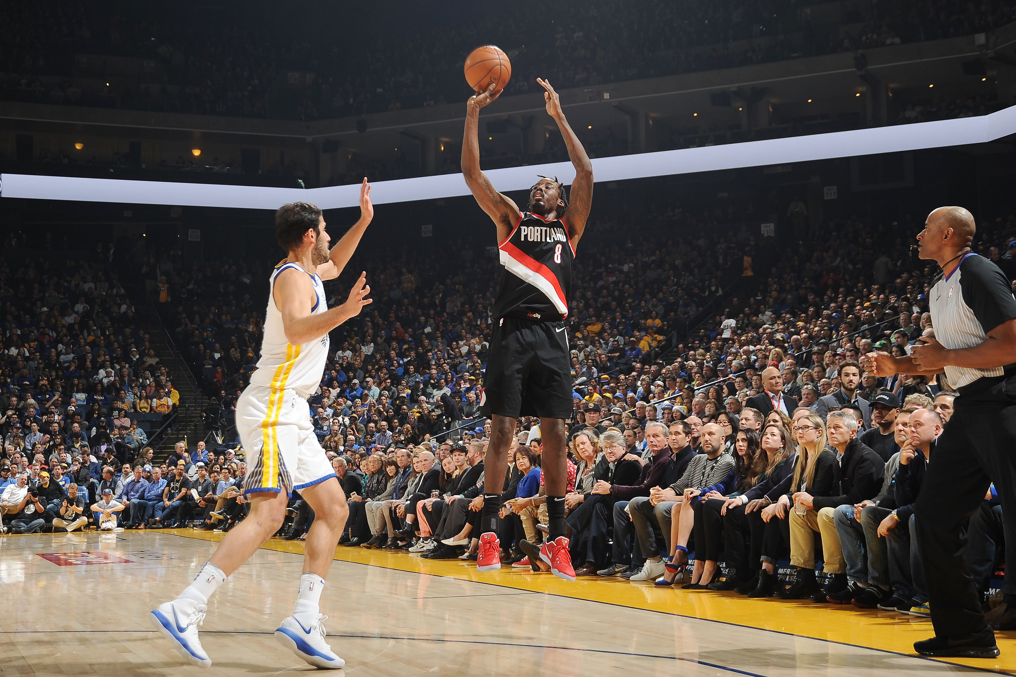 NBA: Aminu Hits Double Double in Portland Trail Blazers' Loss