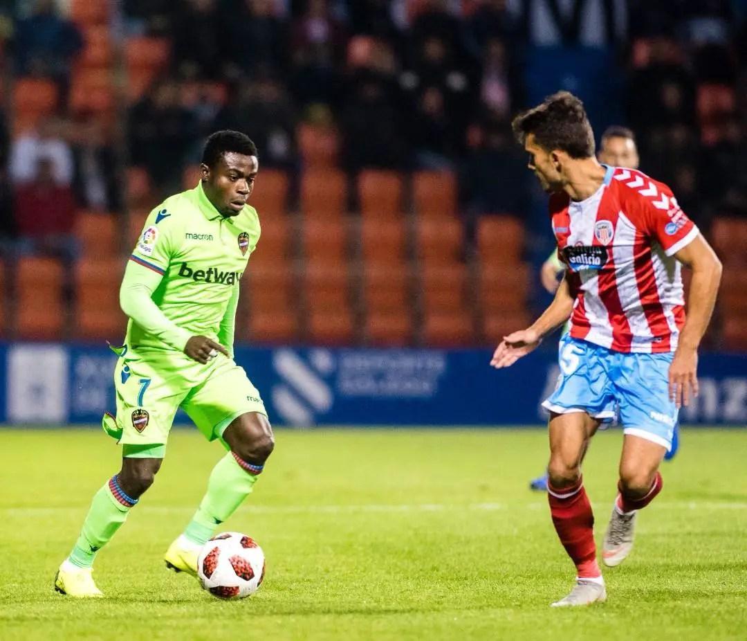 Simon Happy To Make Copa del Rey Debut For Levante