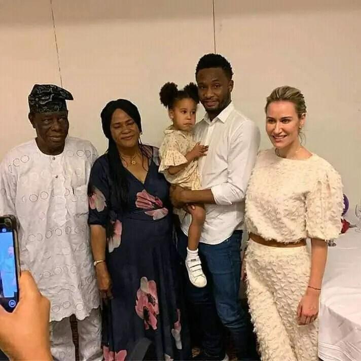 Mikel's Partner Olga Diyachenko Loves 'Graceful, charismatic, Confident' Nigerian Women