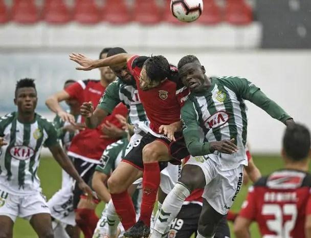 Setubal Coach Hails Agu's Impact In Taca de Portugal Progress
