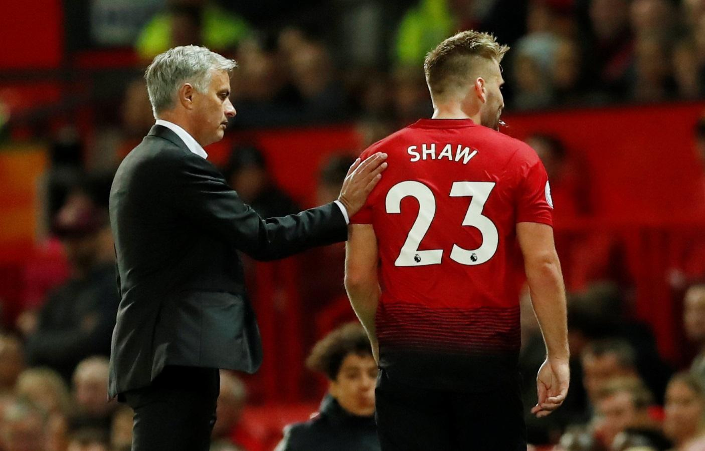 Shaw Missing For Eagles Clash