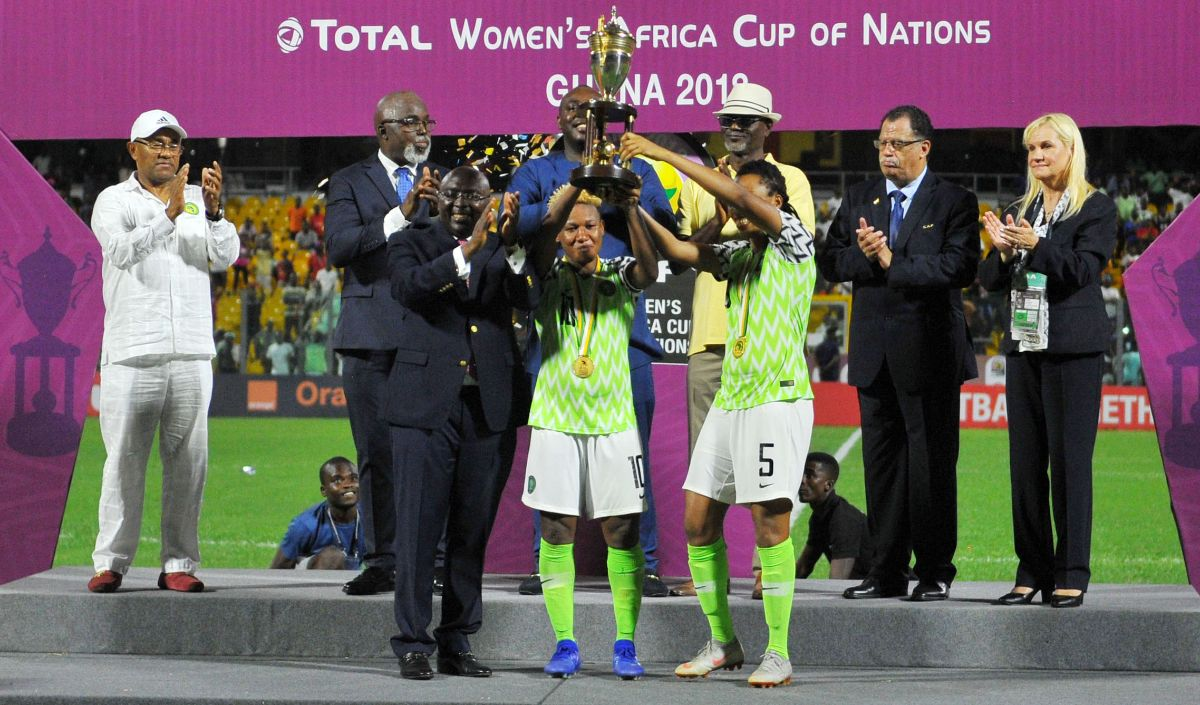 President Buhari Hails 9th Time AWCON Champions Super Falcons