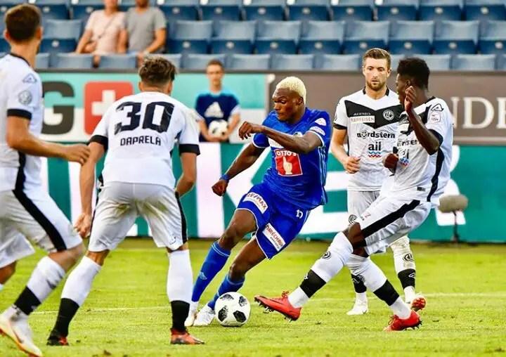 Round-Up: Eleke Hits Brace In Luzern Win; Ekong, Obi Start; Shehu Missing; Simon Benched