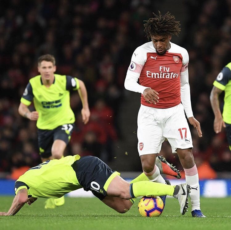 Iwobi Celebrates Arsenal Unbeaten Run In EPL