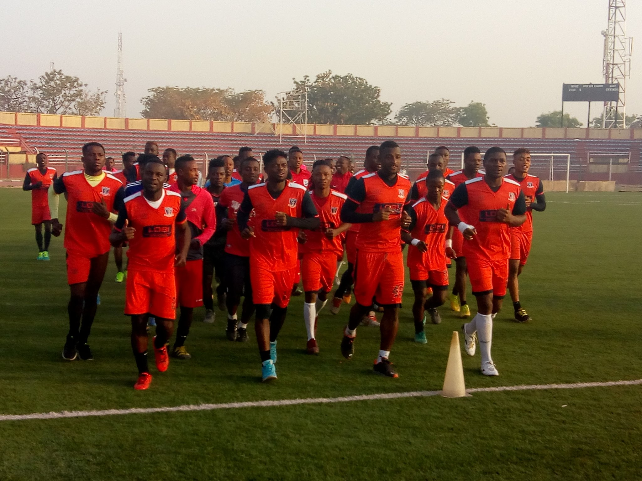 Ogbeide:  Lobi Stars Will Make Nigeria Proud In CAF Champions League