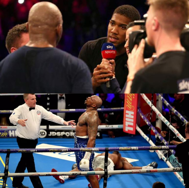 Joshua: If Wilder Doesn't Want My Fight, It Will Be Dillian Whyte