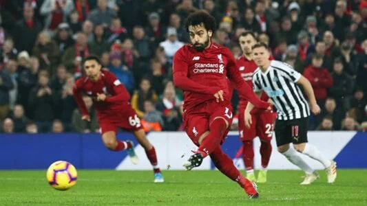 English FA  Cleared Salah Of Diving Offence