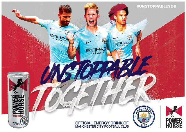 Power Horse And Manchester City Jointly Announce A New Multi-Annual Partnership