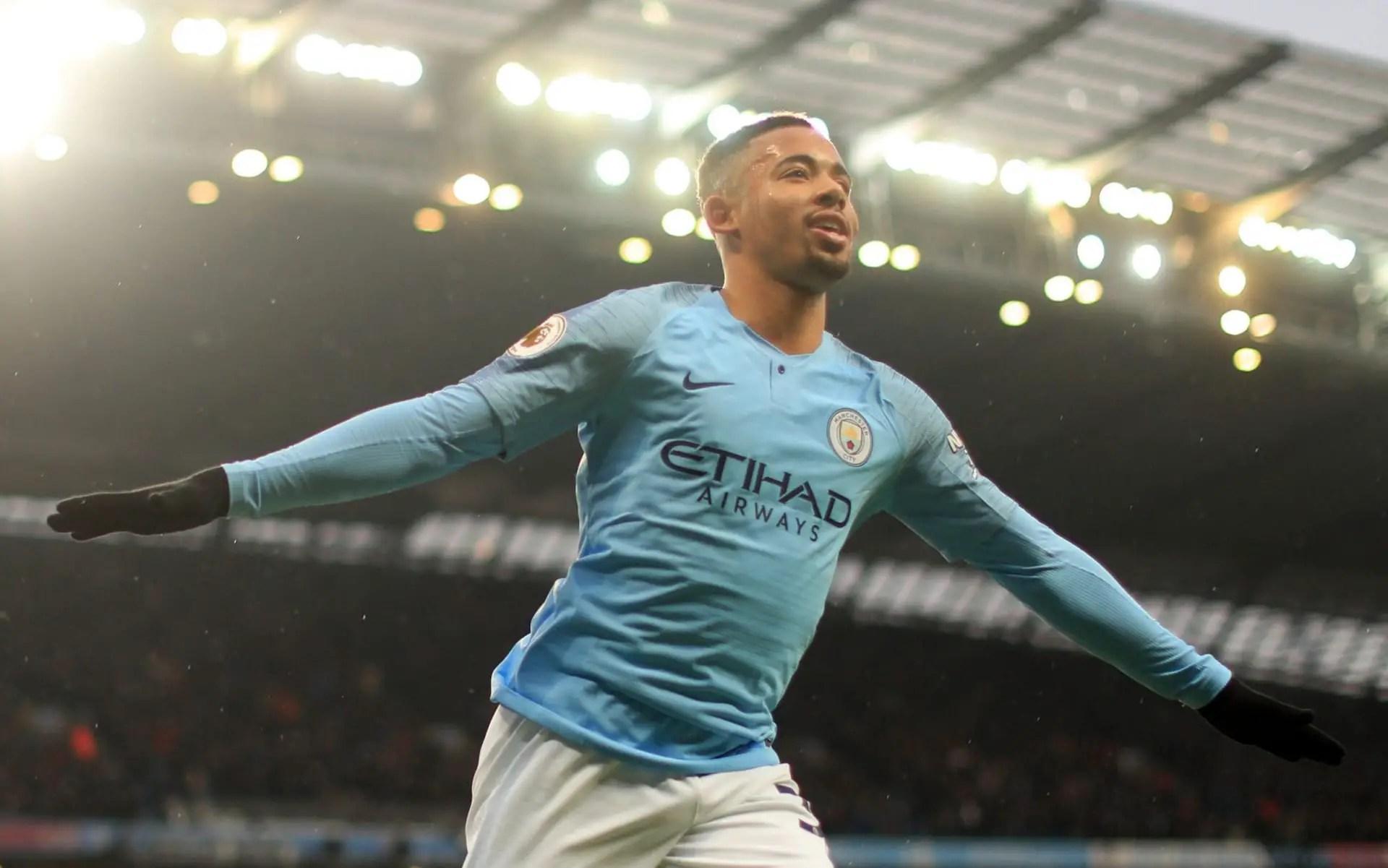 Jesus Hits Brace As Manchester City Trounce Everton 3-1