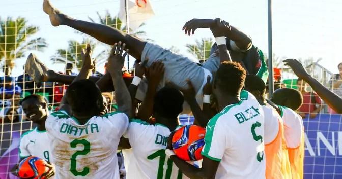 Beach Soccer AFCON 2018: Super Sand Crash 6-1 Vs Senegal In Final