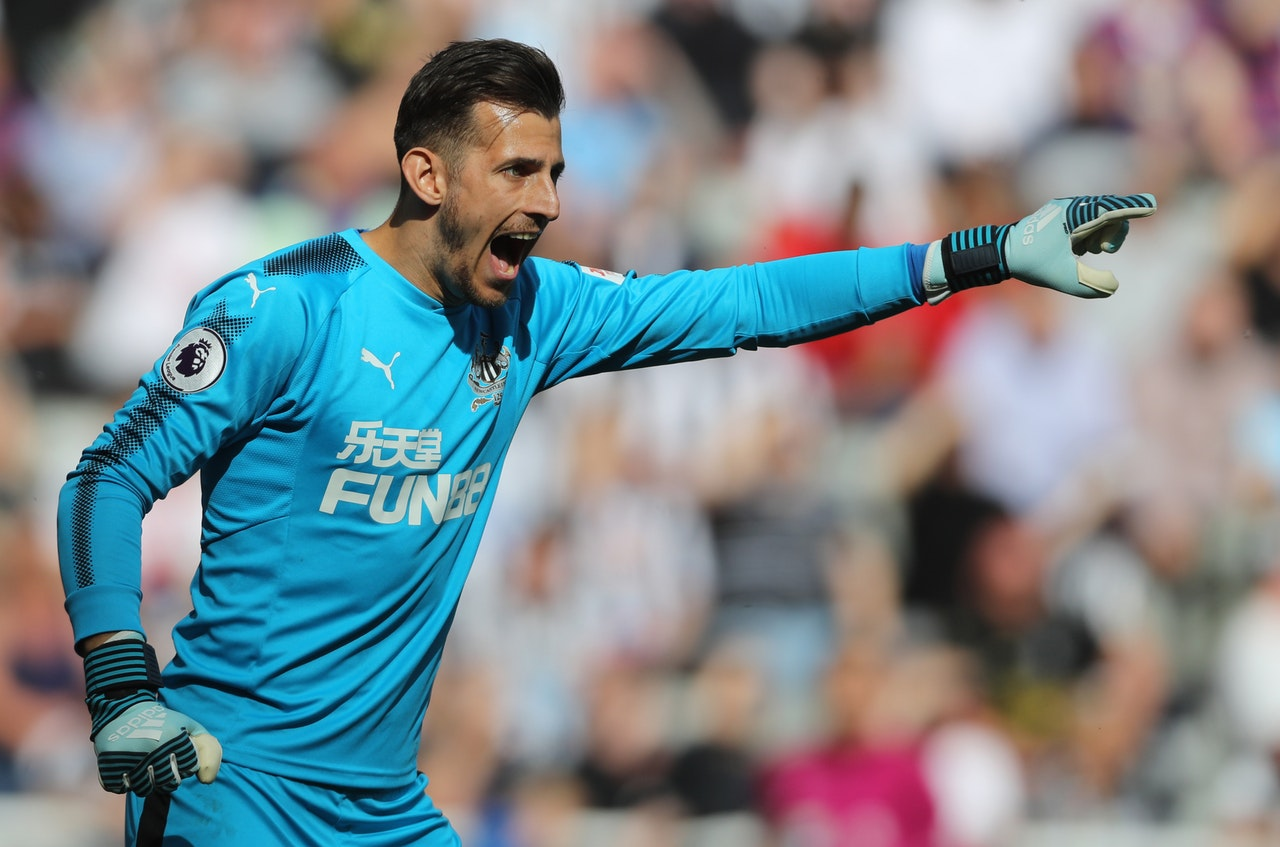 Benitez Shrugs Off Dubravka Interest
