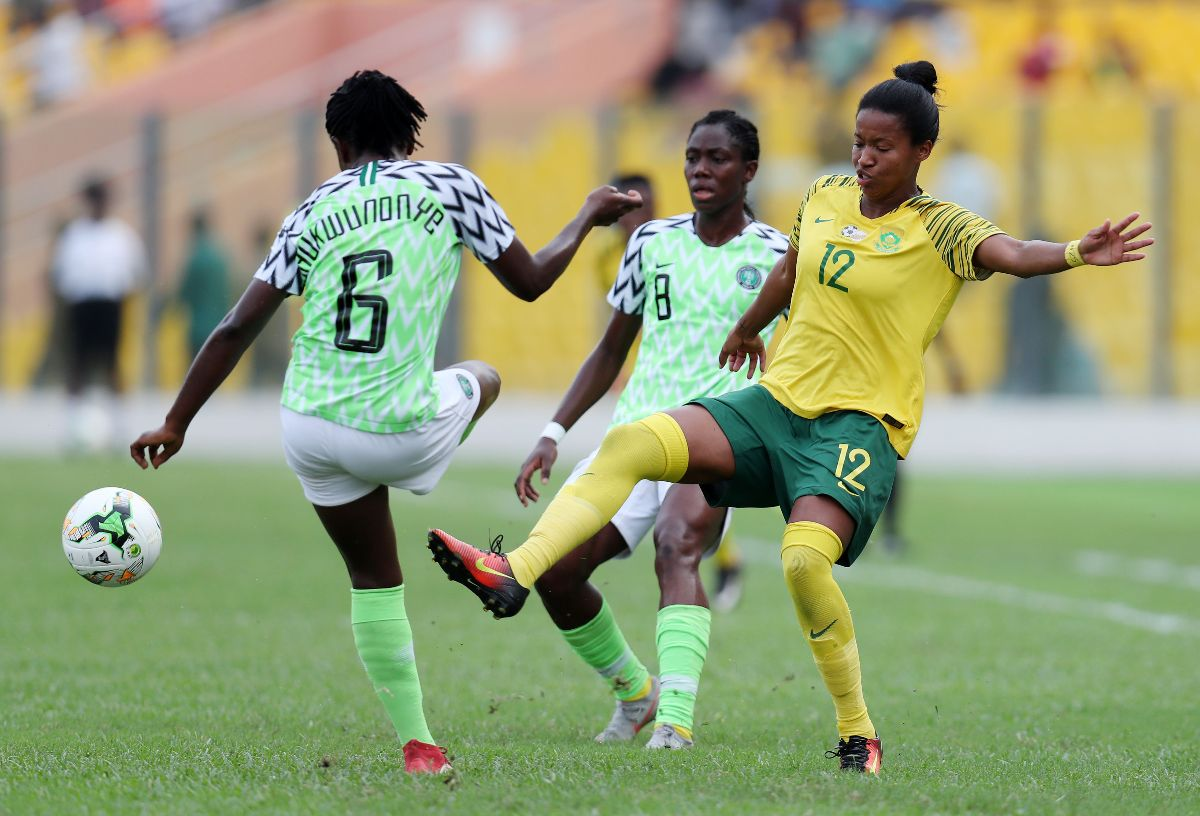BRAVO! How Champions Super Falcons Rated Player-By-Player In AWCON 2018 Final Vs South Africa