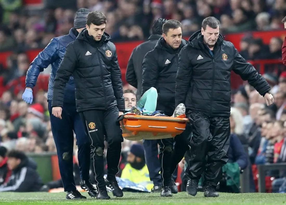 Holding Hit By Season-Ending Injury