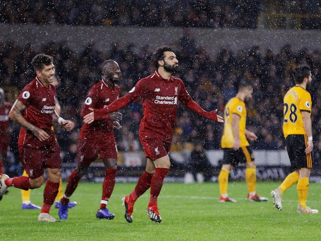 Salah,  Van Dijk On Target As Liverpool Edge Wolves At The Molineux