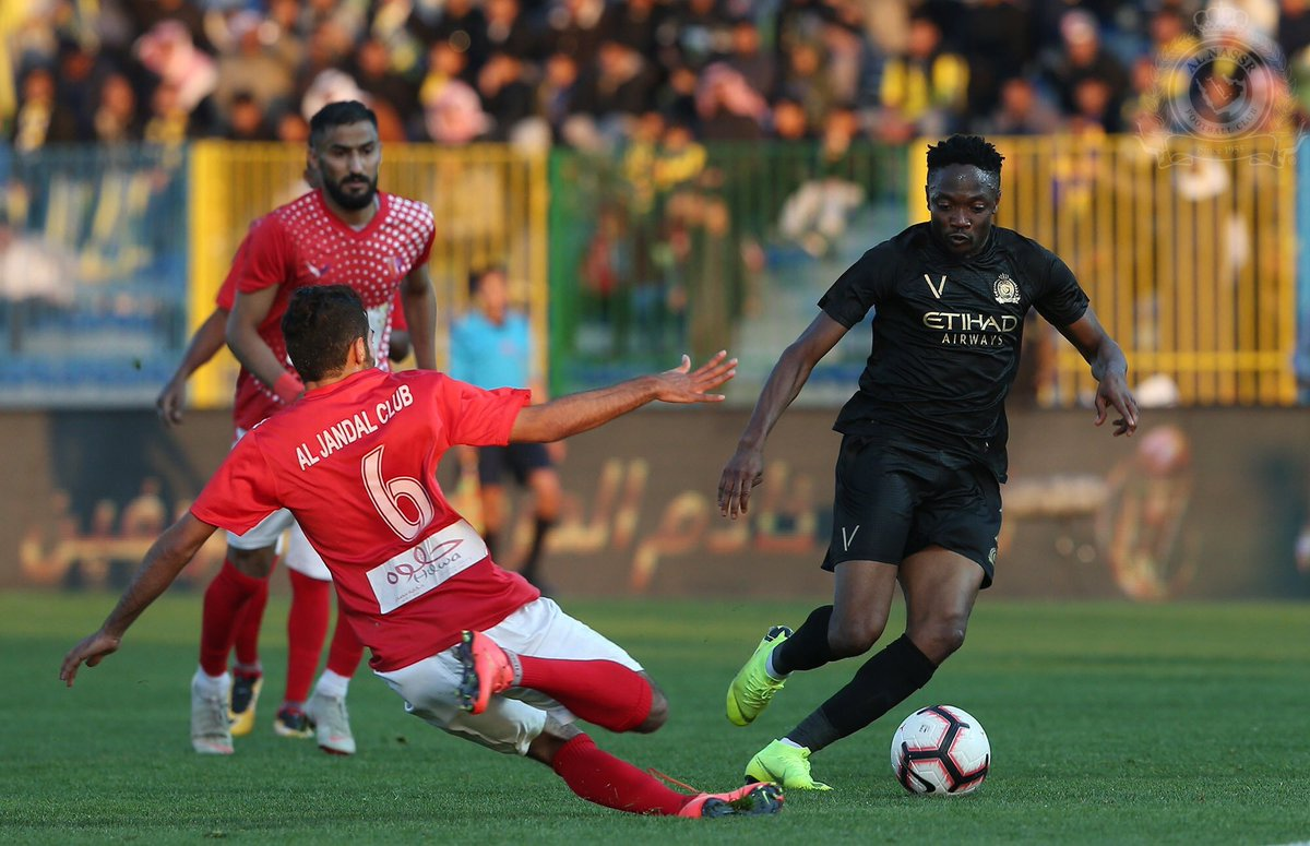 Musa Happy To End 5-Game Goal Drought