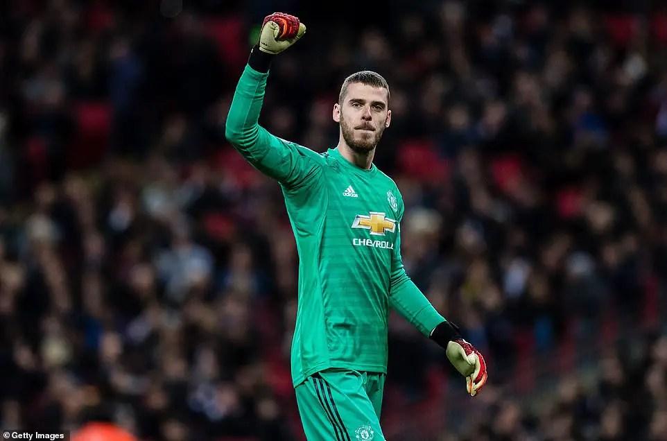 De Gea Confident Man United Will Finish In Top Four