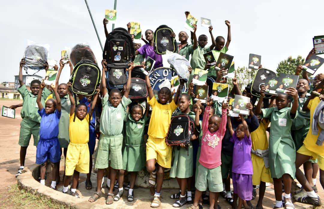 Oshoala Boosts 50 Schools With Sports, Educational Materials