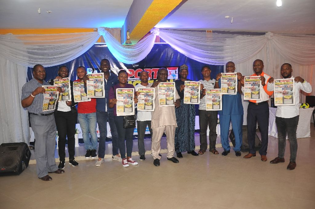 Ex-Eagles Stars Grace All Sports Predictions Launch In Lagos