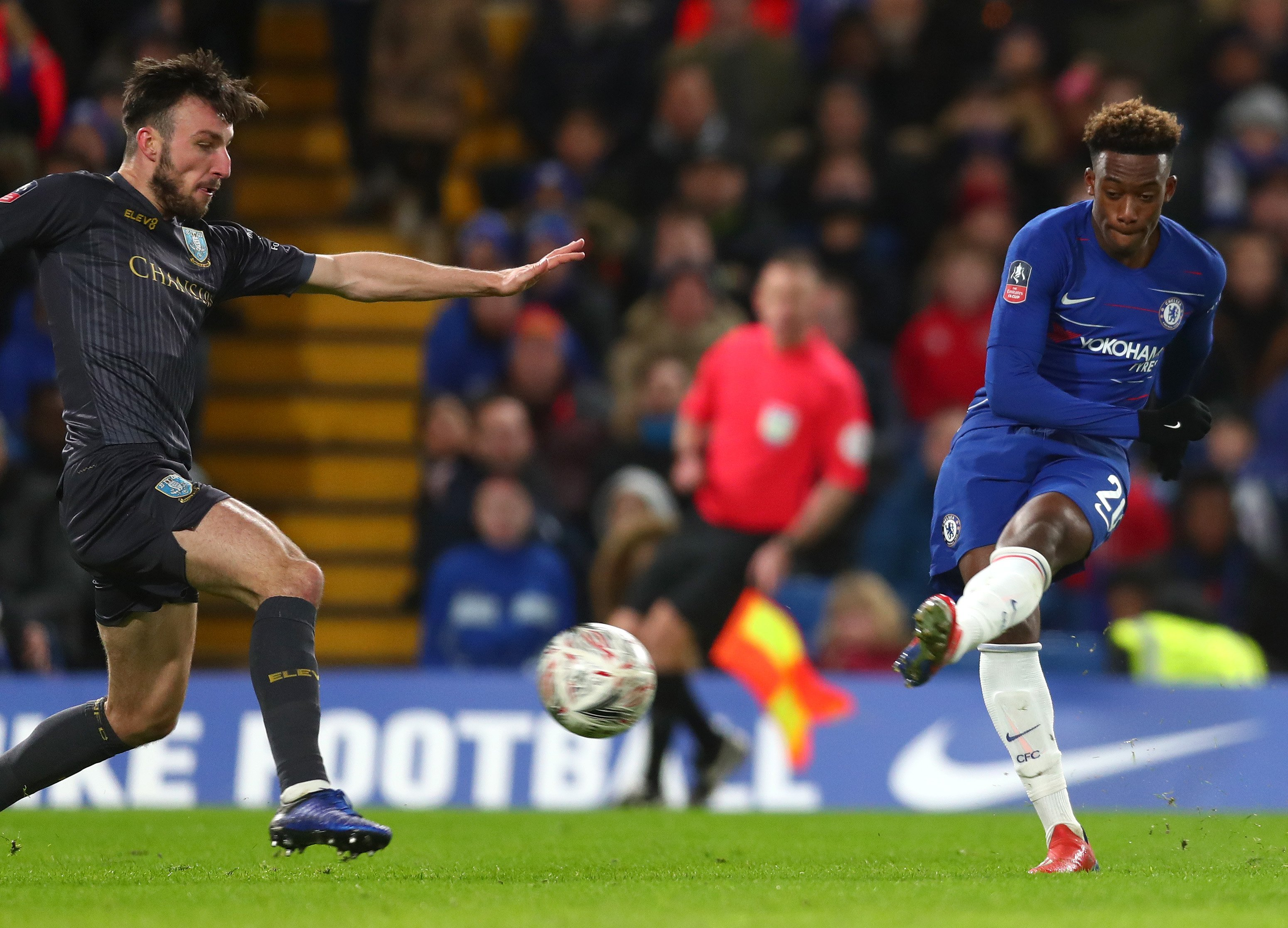 Higuain Debuts; Willian Nets Double, Hudson-Odoi Scores As Chelsea Pip Wednesday To Reach FA Cup 5th Round
