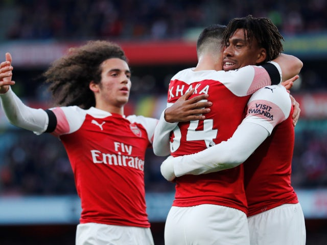 Iwobi Happy With Arsenal's Big Win Vs Fulham; Rues Missed Chances