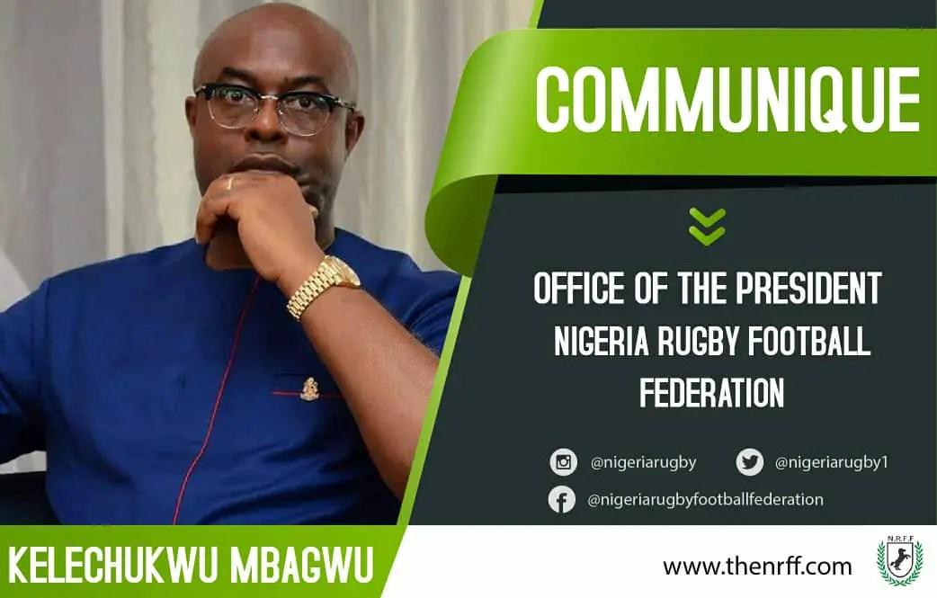 Nigeria Rugby Football Federation President's Communique