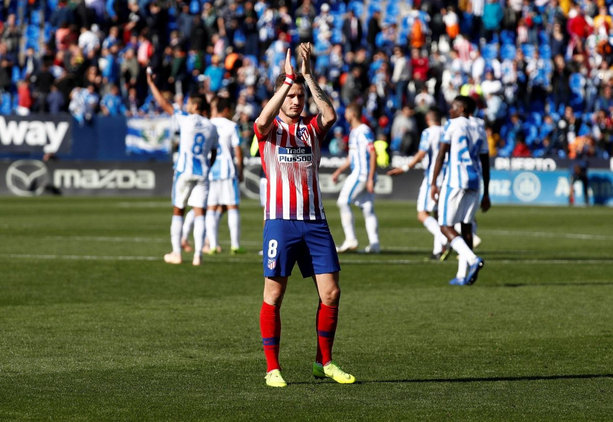 Atletico Confirm Saul Injury