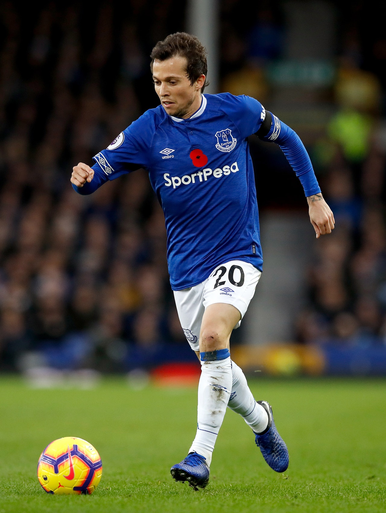 Baines Beams Over Bernard Impact