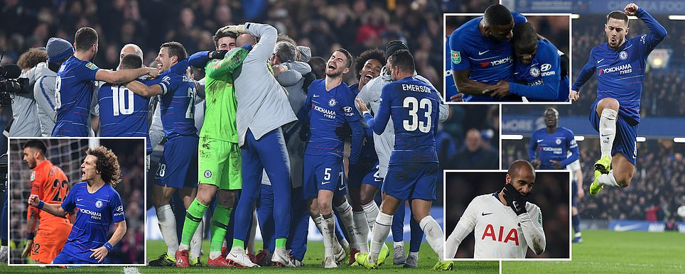 Chelsea Beat Spurs To Reach Carabaro Cup Final
