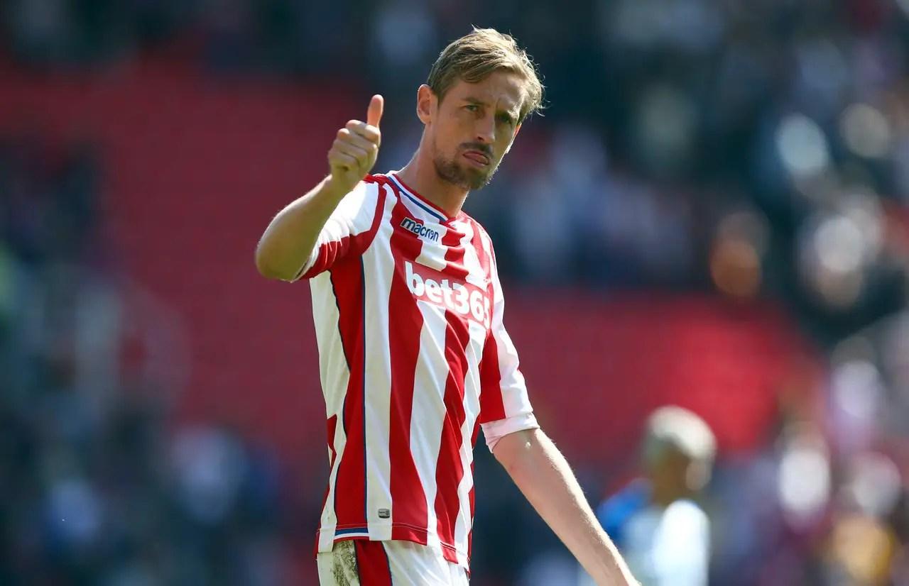 Crouch Makes Premier League Return