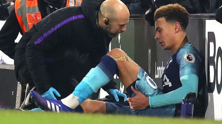 Another Injury Blow To Spurs As Alli Is Ruled Out Until March